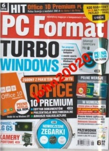 6/2016 PC FORMAT.+ CD.OFFICE 10 PREMIUM PL