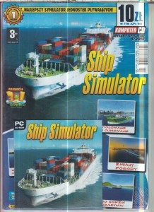 SHIP SIMULATOR   PC CD ROM FOLIA