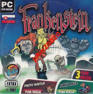 FRANKENSTEIN/KURNIK/ALIEN X. 3 GRY PC CD-ROM