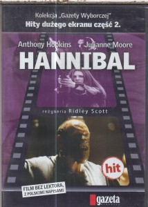 HANNIBAL DVD HOPKINS SCOTT