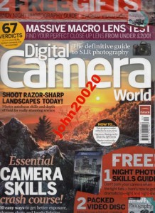 DIGITAL CAMERA WORLD 132/2012.NIGHT PHOTO GUIDE+CD