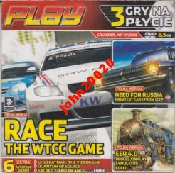 RACE THE WTCC GAME,NEED FOR RUSSIA,EEP,PC CD-ROM.