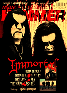 7/2018 METAL HAMMER IMMORTAL