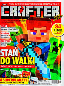 1/2018 CRAFTER MINECRAFT CD ACTION PORADNIK NOWY