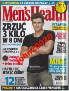 12/2011 MEN`S HEALTH.ORLANDO BLOOM-TRENING