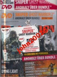 3/2016 CD ACTION SNIPER GHOST,ANOMALY UBER BUNDLE