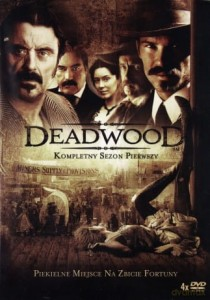 DEADWOOD SEZON 1 HILL MANN BROWN 4 DVD