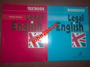 LEGAL ENGLISH TEXTBOOK WORKBOOK.JAKUBASZEK