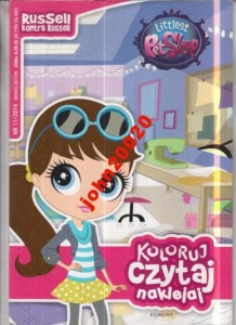 11/2014 LITTLEST PET SHOP.RUSSELL KONTRA .NAKLEJKI
