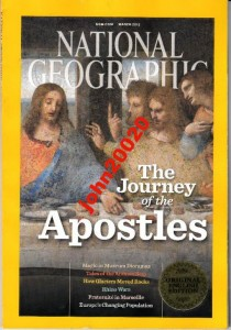 NATIONAL GEOGRAPHIC 3/2012.APOSTOLES