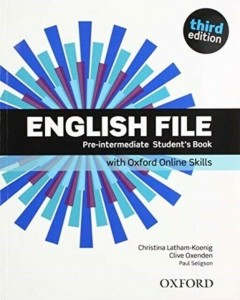ENGLISH FILE 3E PRE INTERM SB ONLINE PRACTICE OXFORD