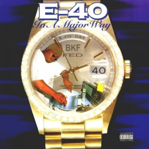 IN A MAJOR WAY LP  E-40 WINYL