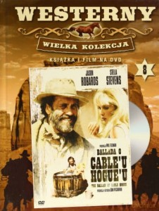 BALLADA O CABLE'U HOGUE'U FREEMAN  ROBARDS DVD
