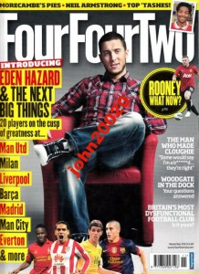 11/2012 FOUR FOUR TWO ROONEY
