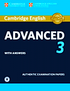 CAMBRIDGE ENGLISH ADVENCED 3 ANSWERS CD CAE