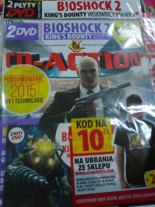 2-2016 CD ACTION,nowy,folia