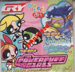 THE POWERPUFF GIRLS,MATMOLUDKI.PC CD-ROM