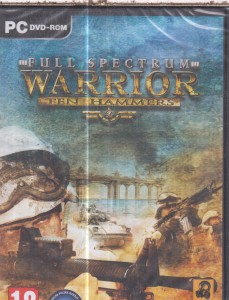FULL SPECTRUM WARRIOR TEN HAMMERS PC DVD FOLIA