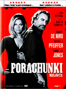 PORACHUNKI DVD DE NIRO PFEIFFER JONES BESSON  SCORSESE