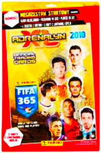 FIFA 365 ADRENALYN 2018  KARYT ALBUM  LIMITED