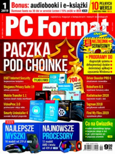1/2019 PC FORMAT DVD DIAGNOSTYKA SYSTEMU