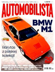 1/2019 AUTOMOBILISTA BMW M1 WARSZAWA PICK UP MERCEDES