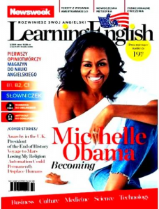 2/2019 NEWSWEEK LEARNING ENGLISH  MICHELLE  OBAMA