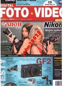 FOTO VIDEO 2-2011,CANON CZY NIKON