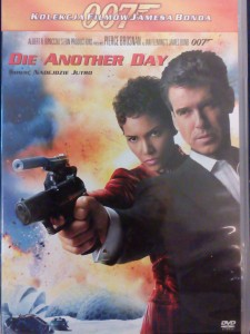 JAMES BOND 007 DIE ANOTHER DAY DVD BROSNAN BERRY
