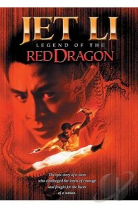 LEGEND OF THE RED DRAGON DVD JET LI