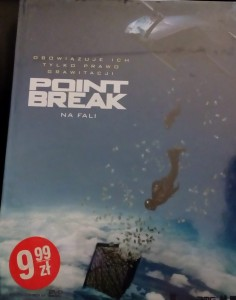 POINT BREAK NA FALI DVD