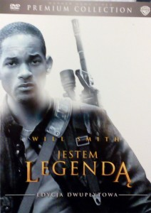 JESTEM LEGENDĄ DVD WILL SMITH Lawrence Francis