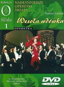 WESOŁA WDÓWKA THE SAN FRANCISCO OPERA LEHAR DVD