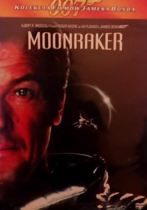 MOONRAKER DVD BOND 007 BROCCOLI MOORE FLEMING