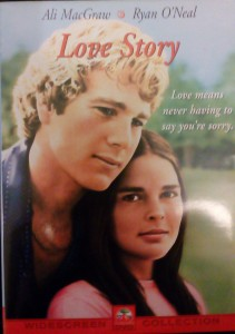 LOVE STORY DVD MACGRAW O'NEAL