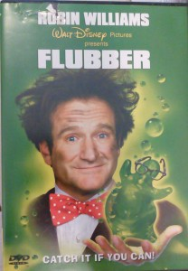 FLUBBER DVD ROBIN WILLIAMS