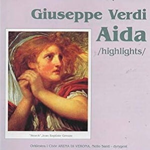 GIUSEPPE VERDI AIDA HIGHLIGHTS GREUZE CD