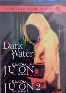 DARK WATER/KLĄTWA JU-ON/KLĄTWA JU-ON 2 3 X DVD  JAPOŃSKIE KINO GROZY