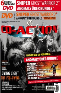 3/2016 CD ACTION DVD 6 GIER SNIPER GHOST