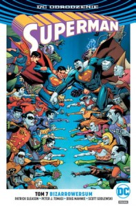 SUPERMAN  BIZARROWERSUM TOM 7 P J TOMASI P GLEASON