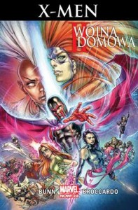 II WOJNA DOMOWA X MEN TOM 3 C BUNN A BROCCARDO STR 112