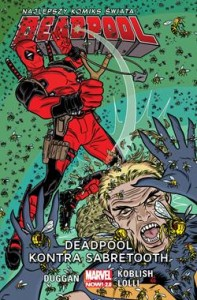 DEADPOOL KONTRA SABRETOOTH DEADPOOL TOM 3 GERRY DUGGAN SCOTT KOBLISH MATTEO LOLLI