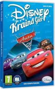 AUTA 2  DISNEY PIXAR PC DVD FOLIA