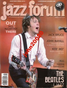 6/2013 JAZZ FORUM.PAUL MCCARTNEY,MAYALL