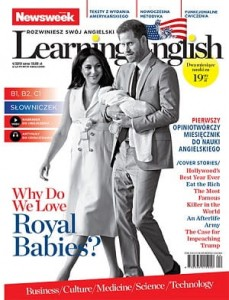4/2019 NEWSWEEK LEARNING ENGLISH ROYAL BABIES