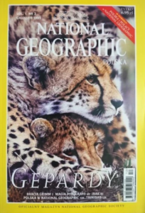 12/1999 NATIONAL GEOGRAPHIC POLSKA GEPARDY