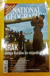 1/2006 NATIONAL GEOGRAPHIC IRAK DROGA KUDRÓW