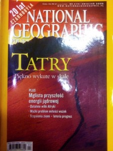 4/2006 NATIONAL GEOGRAPHIC TARTY PIĘKNO WYKUTE