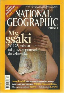4/2003 NATIONAL GEOGRAPHIC MY SSAKI