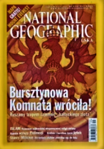5/2003 NATIONAL GEOGRAPHIC BURSZTYNOWA KOMNATA